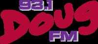 DougFM 93.1 Logo