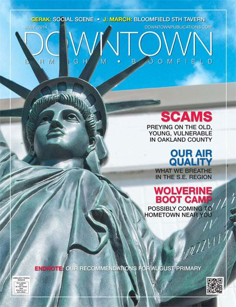 Downtown Magazine Cover
